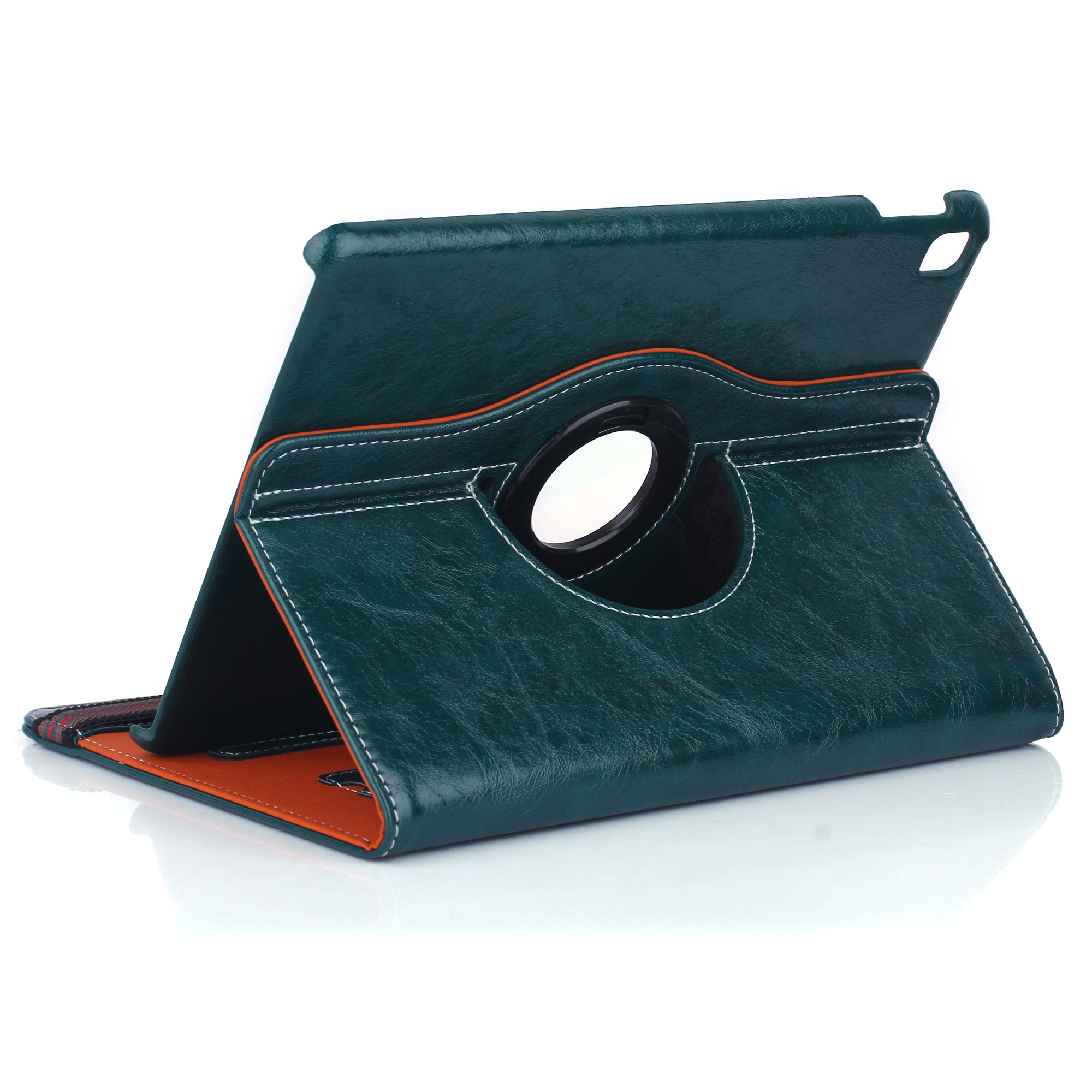Ultra Thin PU Leather Rotatable Holder Stand Cover Case For iPad Air 2