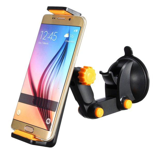 360°オートバイの車のウインドスクリーンダッシュボードホルダーマウントナビゲーションブラケット電話9.7インチタブレット