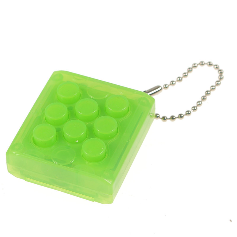 Puchi Stress Reliever Squeeze Bubble Packing Crazy Gadget Endless Pop Pop Wrap Key Chain - Photo: 6
