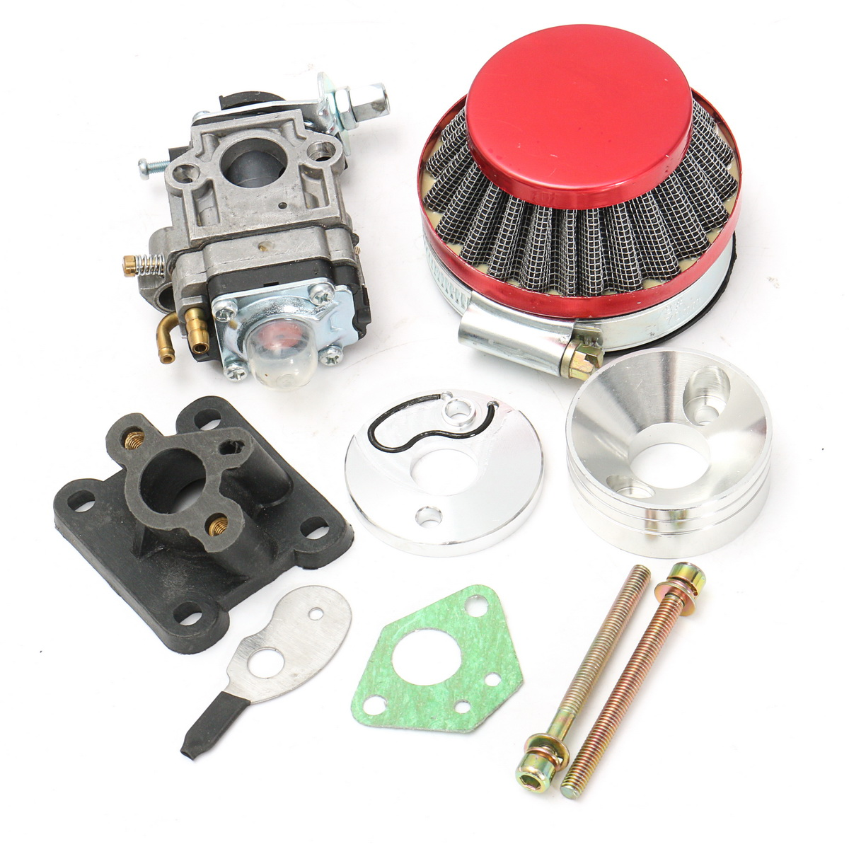 Carburetor Carb Air Filter Stack For 47 49cc Mini Moto Pit Dirt Pocket Bike ATV