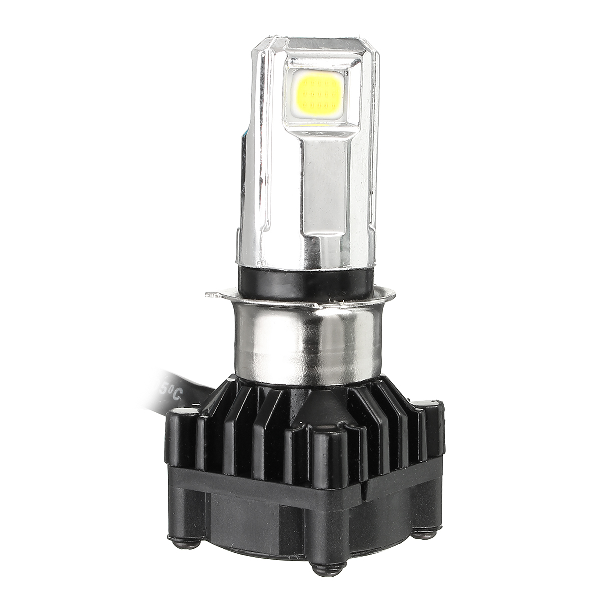 3 LED 3500LM 6000k Motorcycle Bike Car H4 COB HI/Lo Beam Headlight Lamp Bulb Kit