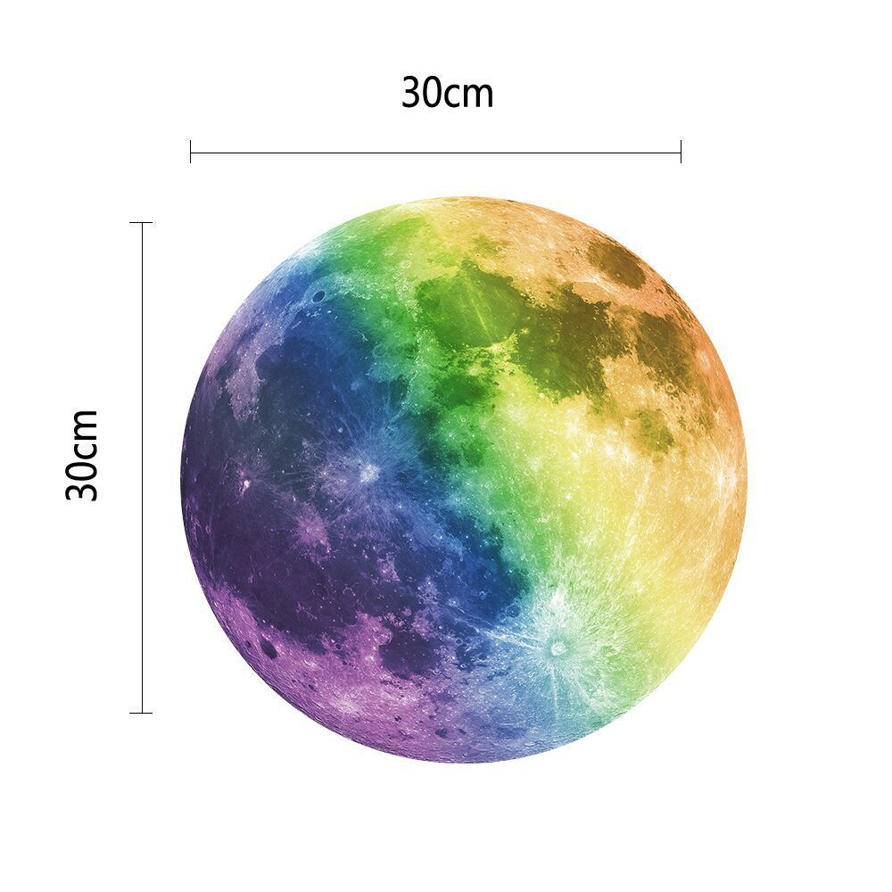 Large Moon Wall Sticker