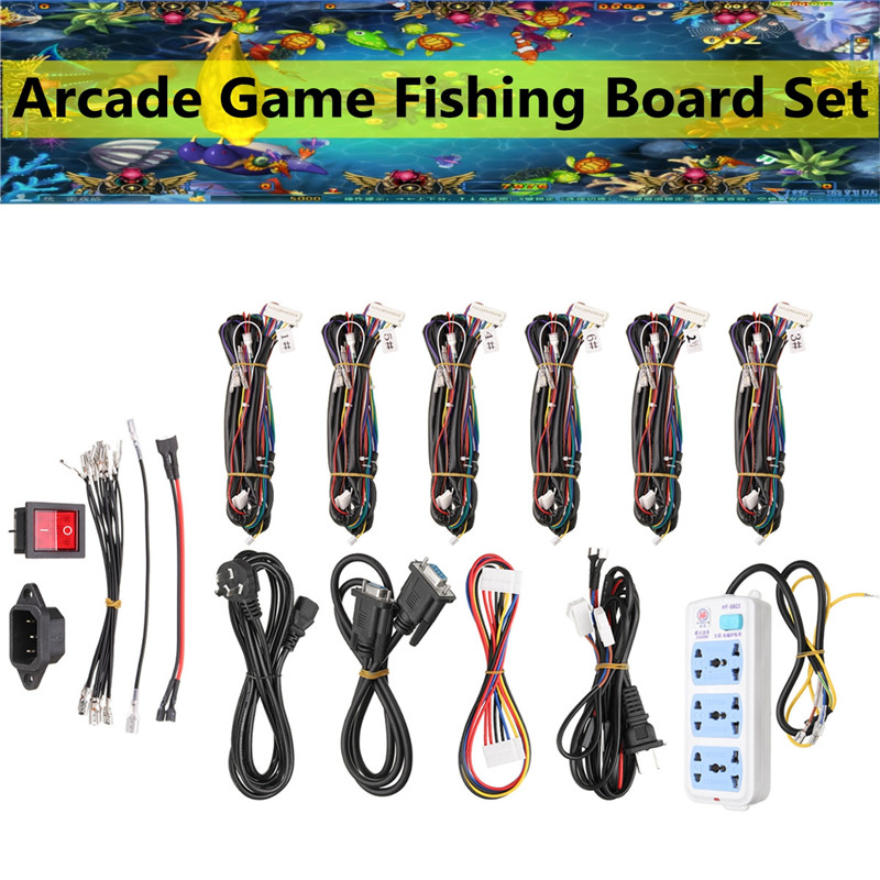 Arcade game fishing board maintenance wire for 6player pc for Arcade fishing games