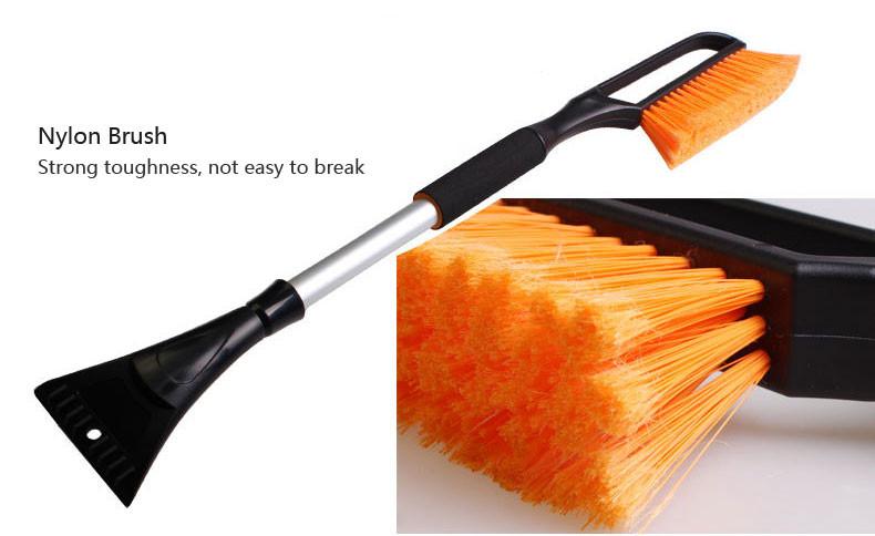 102cm Multifunction Retractable Snow Brush with Ice Scraper Garden Car Snow Removaling Shovel Tool