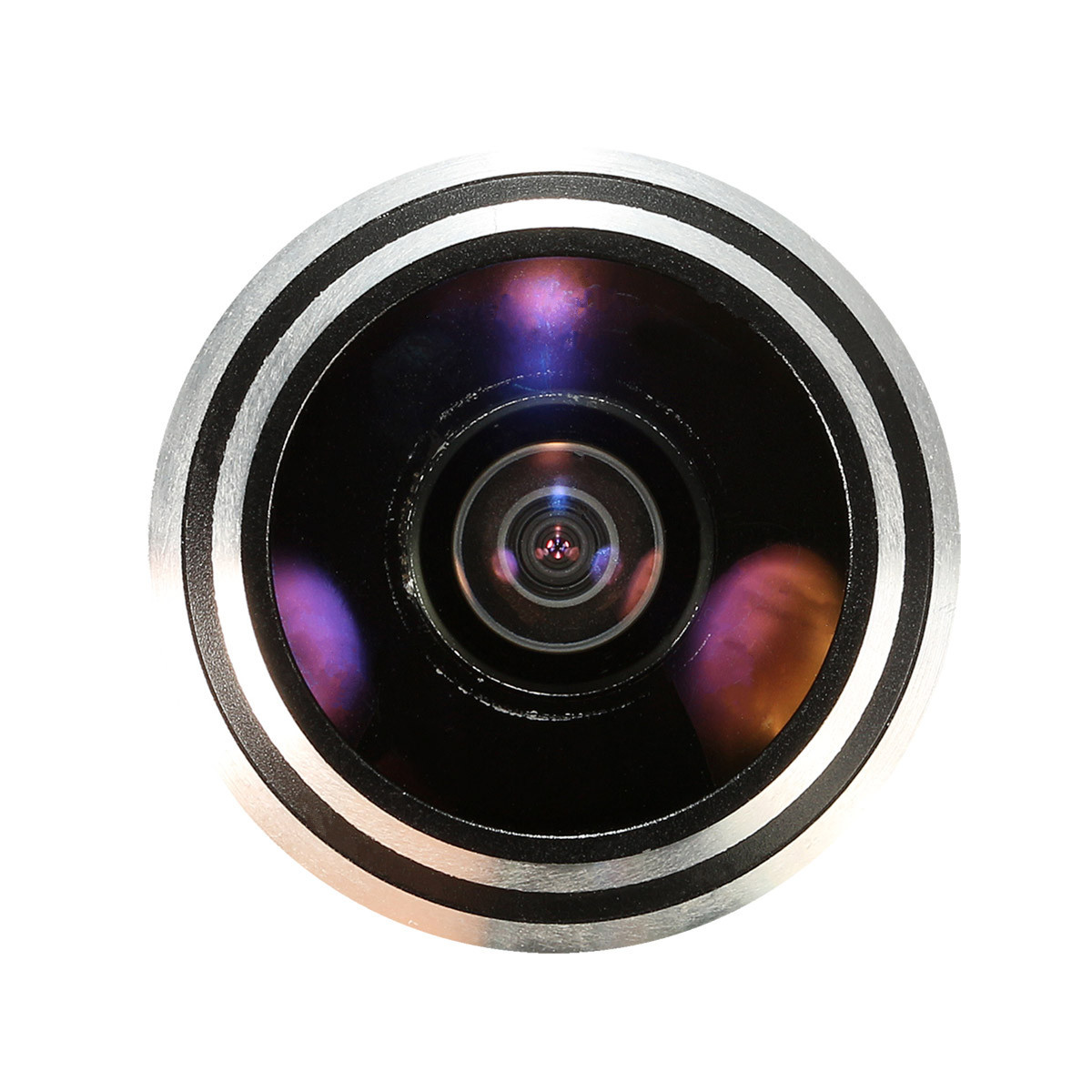 170 wide angle ccd wired mini home door eye hole video for Door eye hole
