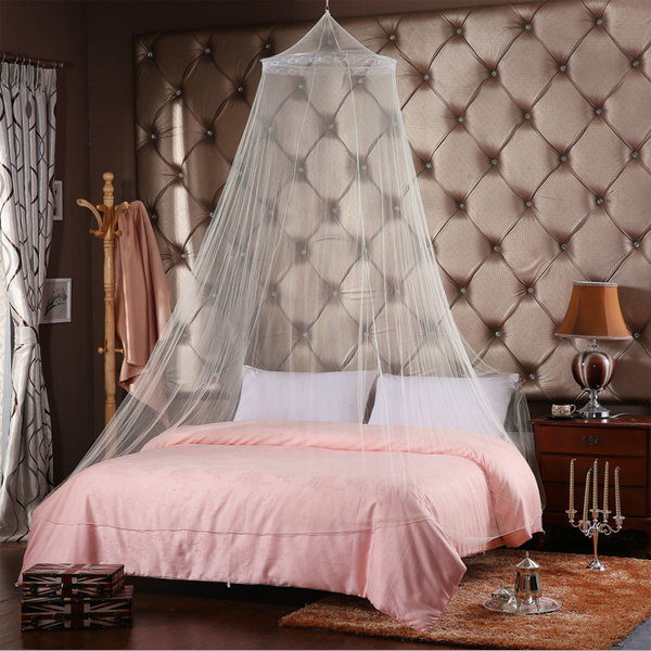 honana mosquito stopping bed canopy netting curtain dome. Black Bedroom Furniture Sets. Home Design Ideas