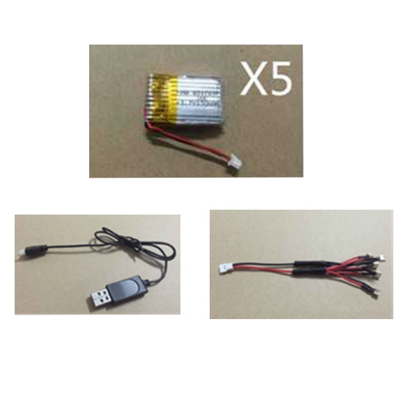 5X 3.7V 150mAh 20C Battery And USB Cable Set For JJRC H20 RC Quadcopter - JJRCRC Quadcopter Parts<br>5X 3.7V 150mAh 20C Battery And USB Cable Set For JJRC H20 RC Quadcopter Description: Item name: JJRC H20 RC Quadcopter Spare Parts 5*Battery &amp; USB Cable &amp; Red-Black Cable Battery: 3.7V 150mAh 20C Size of battery: 26*15*6mm Output cable length: 30mm Flight time: 4.5-5.5mins Charging time: 30-40mins Weight: about 5.2g For JJRC H20 RC Quadcopter Package Included: 5x 3.7V 150mAh battery 1x USB cable 1x Red-black cable<br>