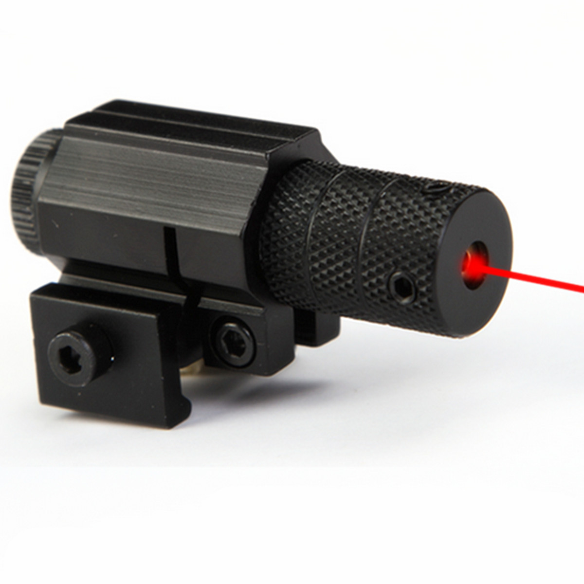100m 835-655mm Tactical Aiming Red Beam Dot Laser Bore Sight Scope With Mount for Gun Rifle Pistol