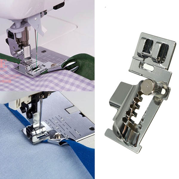 Household Sewing Machine Bias Tape Binder Metal Presser Foot Accessories For Brother Singer Janome от Banggood INT