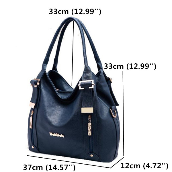 Size Of Genuine Leather Bags
