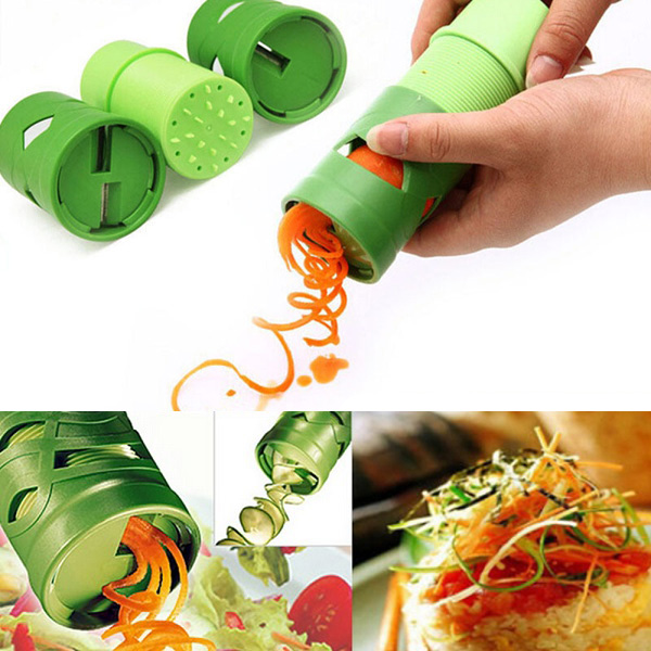 Multifunction Vegetable Fruit Cucumber Turning Cutter Slicer Fruit Vegetable Processing Device