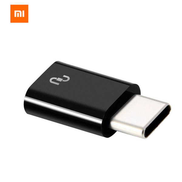 Original Xiaomi USB Type-C Male to Micro USB Female Adapter for Mobile Phone usb type c male to hdmi usb 3 0 type c female adapter for nintendo switch macbook pro