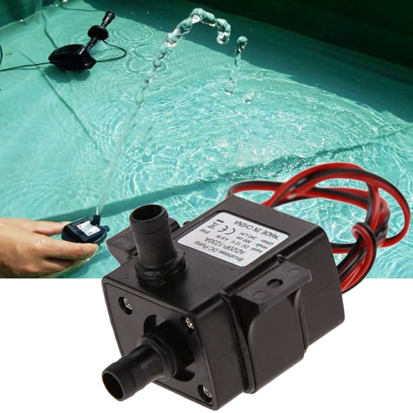 12V 4.2W Mini DC Brushless Garden Fountain Pump Hydrological Cycle Submersible Water Pump 51mm dc 12v water oil diesel fuel transfer pump submersible pump scar camping fishing submersible switch stainless steel