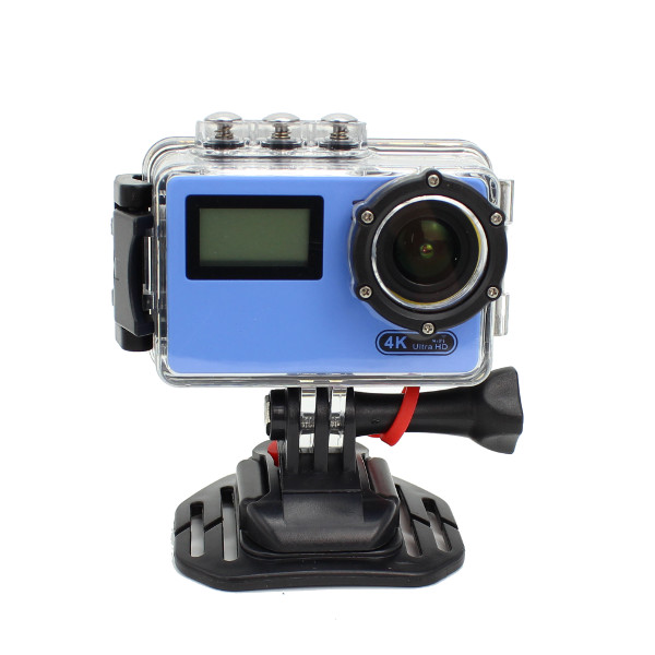 AT-N445 170 Degree Wide Angle 4K WiFi Camera Ultra HD FPV Sport Action Cam - Photo: 4