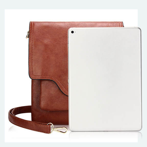 Women Vintage Lock Messenger Bags Girls Casual Shoulder Bags Crossbody Bags