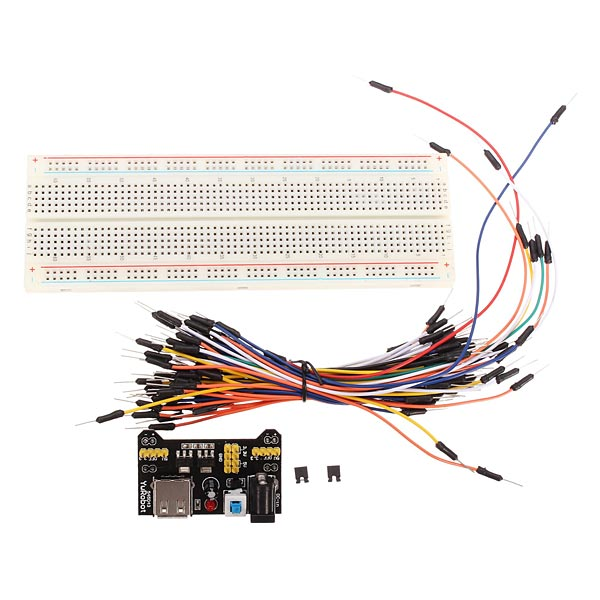 MB-102 MB102 Solderless Breadboard + Power Supply + Jumper Cable Kits For Arduino набор ножей nadoba rut