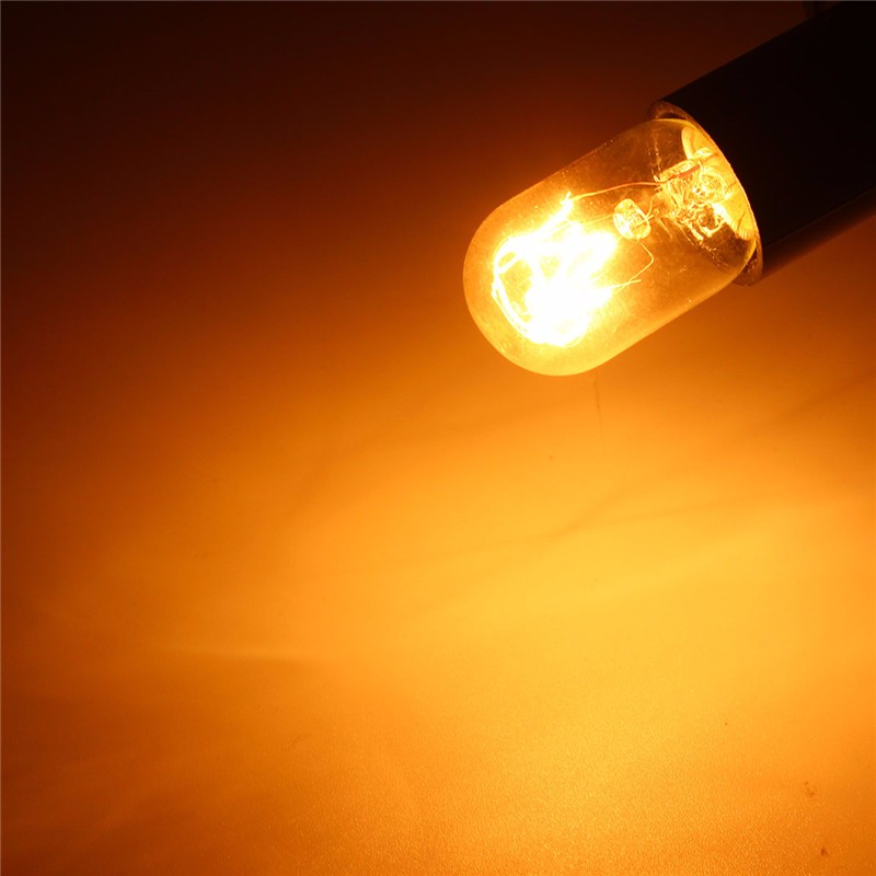 Salt Lamp Bulb Led : 15W/25W 120V E12 Incandescent Glass LED Light Bulb Refrigerator Salt Oven Lamp Alex NLD