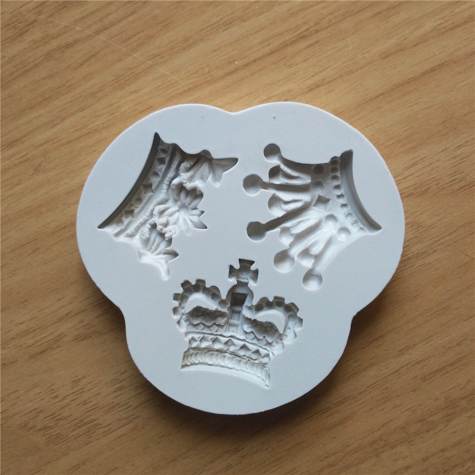 Silicone Crown Shaped Baking Mold Fondant Cake Tool Chocolate Candy Cookies Pastry Soap Mould (Eachine1) Hollywood объявления купить