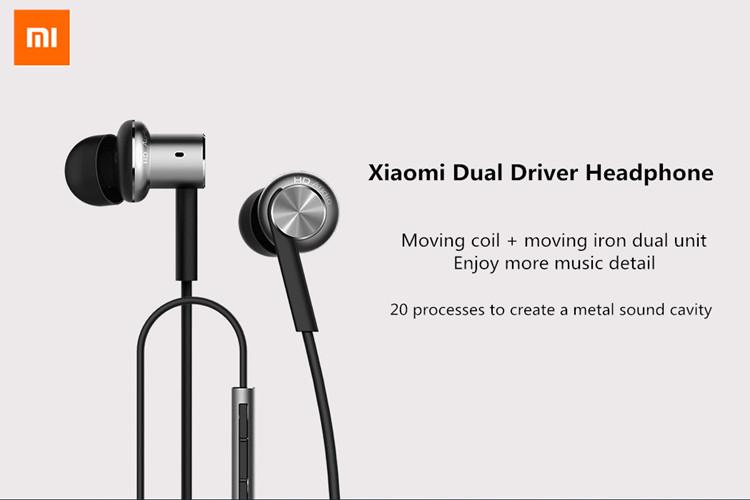 оригинальные Xiaomi гибридные двойной драйверы проводной контроль наушники наушники с микрофоном