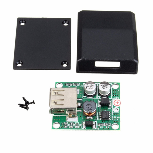 DIY 5V 2A Voltage Regulator Junction Box Solar Panel Charger Special Kit sunwalk swr15 1 5w 1 5v foldable diy amorphous silicon solar cell panel black