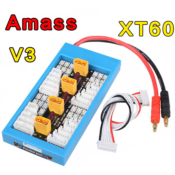 Amass V3 XT60 Plug Lipo Parallel Charger Board Charleston Prices for the announcement