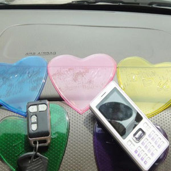 Car Cute Non Slip Pad Heart Shaped Non Slip Mat