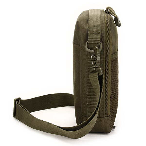 Men Women, Nylon Sport Outdoor, Tactical Army Ipad, Shoulder Crossbody Bag