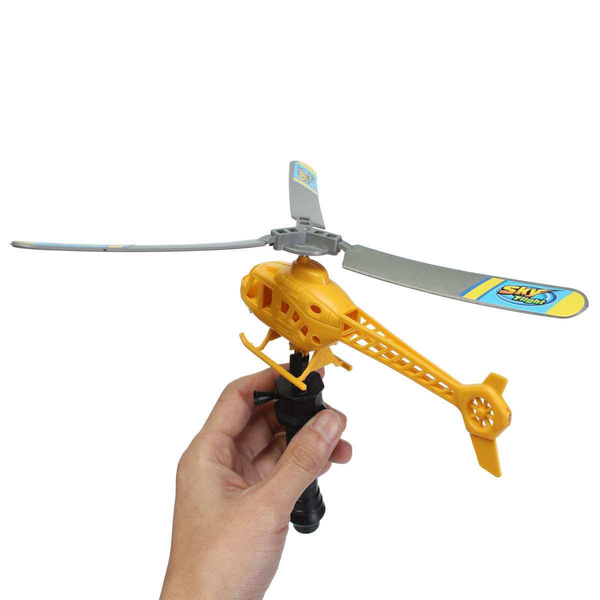propel toy helicopter with Ripcord Powered Launch Pull Launcher Action Helicopter Kids Flying Toy on WLtoys V944 4ch Helicopter Aircraft Spare 1552642680 also Esky 150 Mini Flybarless 4ch 2 4ghz 3 Akse Rc Fjernstyret Helikopter Mode 2 Html besides Outdoor Quadcopter Rc Helicopter Smart Drone 60267171744 together with 150982233894 likewise Ripcord Powered Launch Pull launcher Action Helicopter Kids Flying Toy.