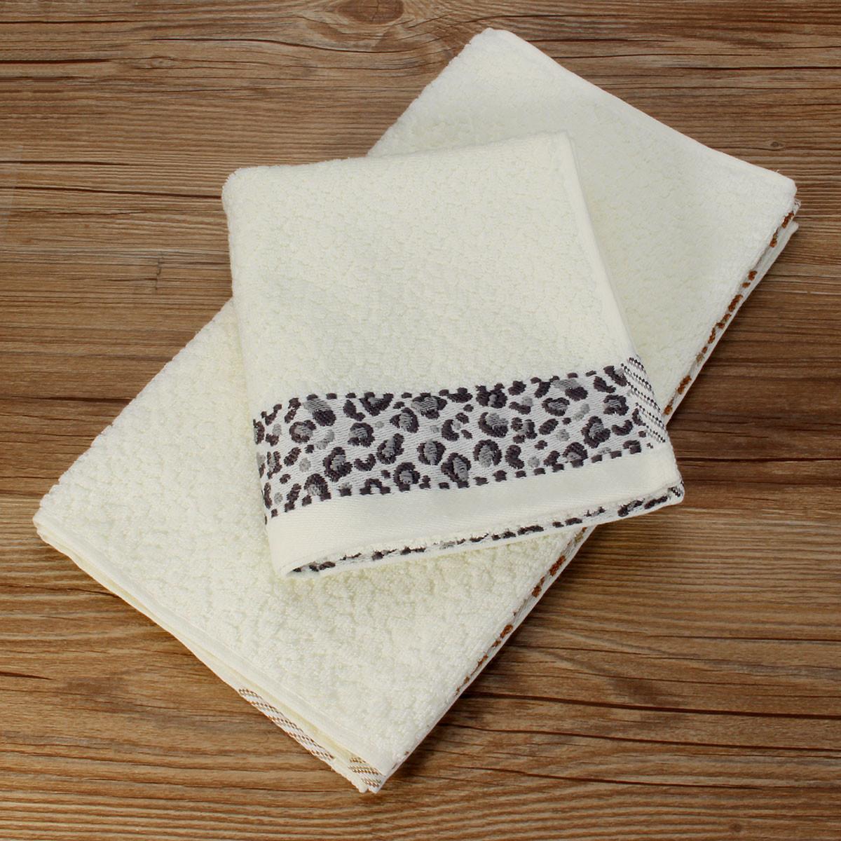 33x74cm Jacquard Cotton Towel Bathroom Absorbent Face Cloth Shower Washcloth