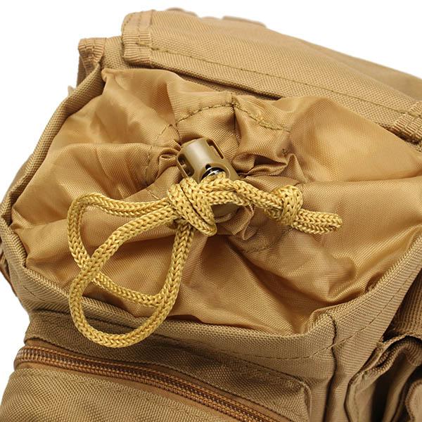 メンズキャンバスバイクサイクルモトクロスレッグバッグ旅行ハイキング釣り多機能戦術ウエストバッグ