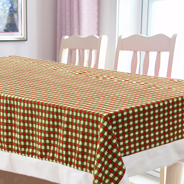 bed bath 200x145cm christmas table cloth cover hotel