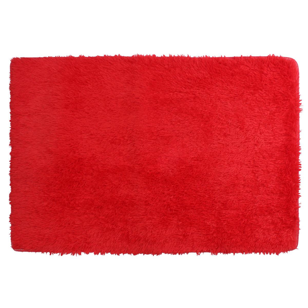 80x120cm Fluffy Anti Skid Shaggy Floor Mat Doorsill Rug Dining room Carpet Home Bedroom Floor Mat