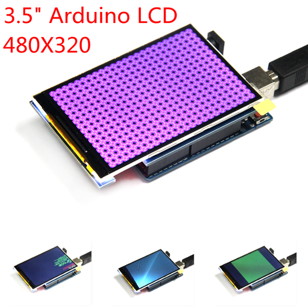 3.5 Inch TFT Color Screen Module 320 X 480 Support Arduino UNO Mega2560 carbon fiber antistatic brush remove static electricity 1460x1400mm