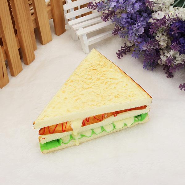 Ebluejay artificial bread fake sandwich simulation mould for Artificial bread decoration