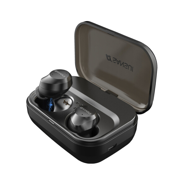 Sansui I23 IPX7 Waterproof TWS Bluetooth 4.2 Stereo In-ear Sport Earphone with Charge Station