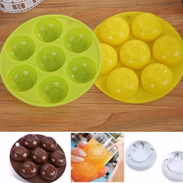 Buy Lovely Smile Silicone Ice Mold Soap Cake Candy Chocolate Cube