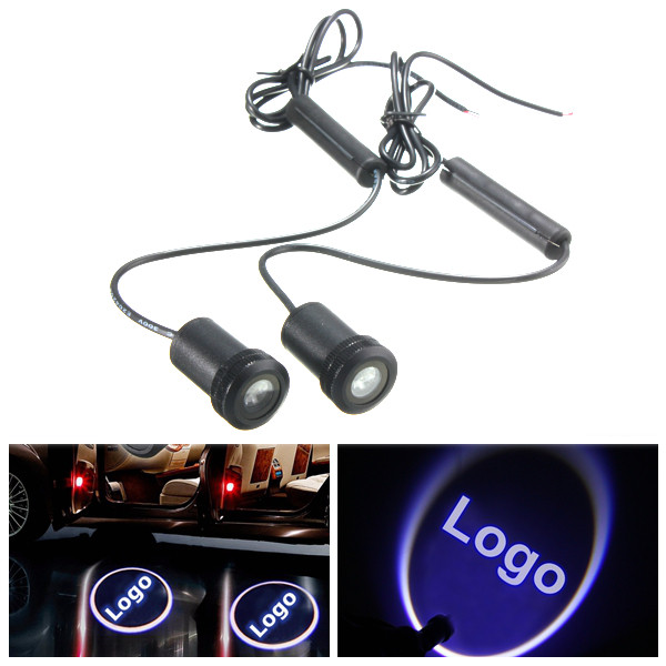 Buy LED Welcome Light Laser Projector Car Door Ghost Shadow Lamp for Jeep