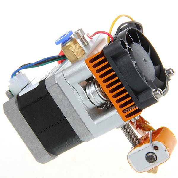 All Metal MK8 Extruder Assembled Kit For 3D Printer mk8 extruder kit for makerbot prusa i3 extrusion head extruder 3d printer part