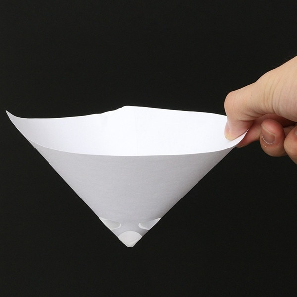 50pcs 190 Mesh Paper Paint Strainer Nylon Full Flow Conical Cone Filter Funnel