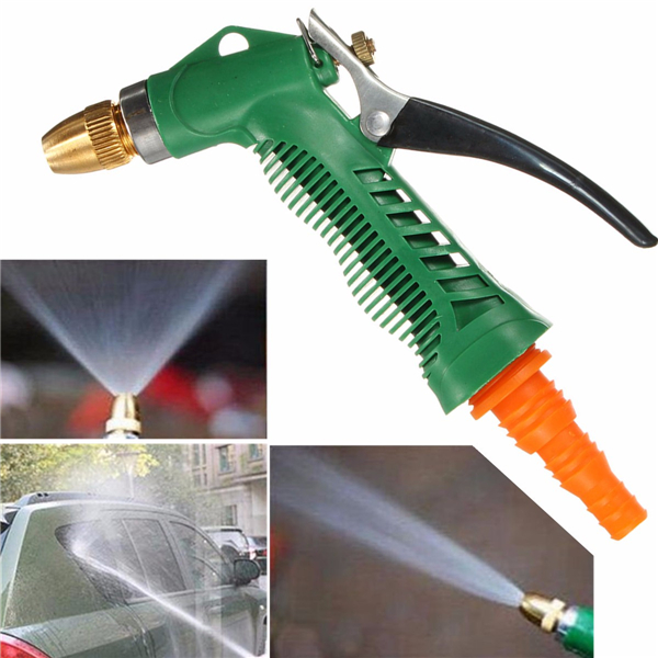 Metal Hose Nozzle High Pressure Water Spray Gun Sprayer Garden Auto Car Washing 125ft 7 modes expandable garden water hose pipe with spray gun