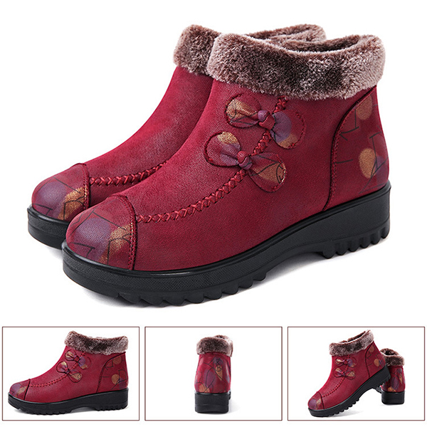 Winter Slip On Keep Warm Shoes