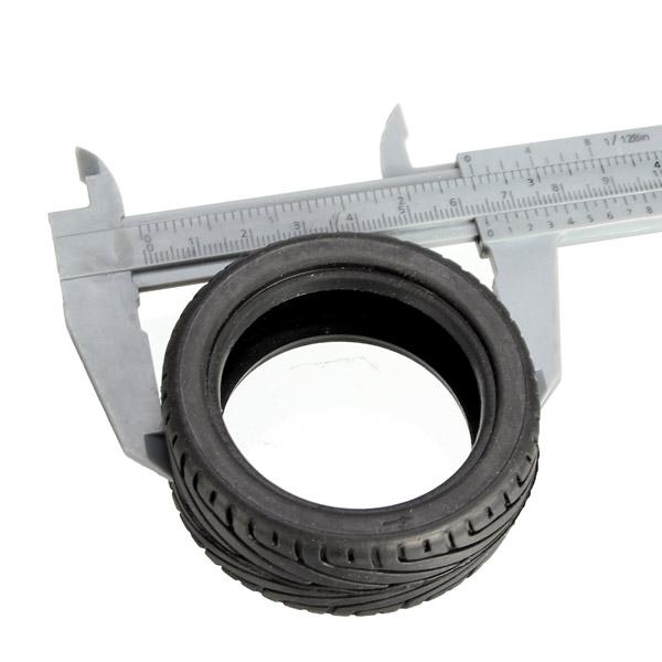 2PCS Tires For A-alloy Metal Rims 52*26mm Upgrade 1/18 WLtoys A959-B A959 A969 A979 K929 1/10 Rims - Photo: 5