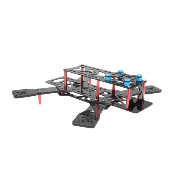 EMAX Nighthawk 250 Pro II Pure Carbon Fiber Quadcopter Multicoptor Frame Kit carbon fiber zmr250 c250 quadcopter
