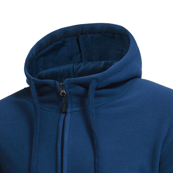 Men's Warm Fleece Hoodie Jacket
