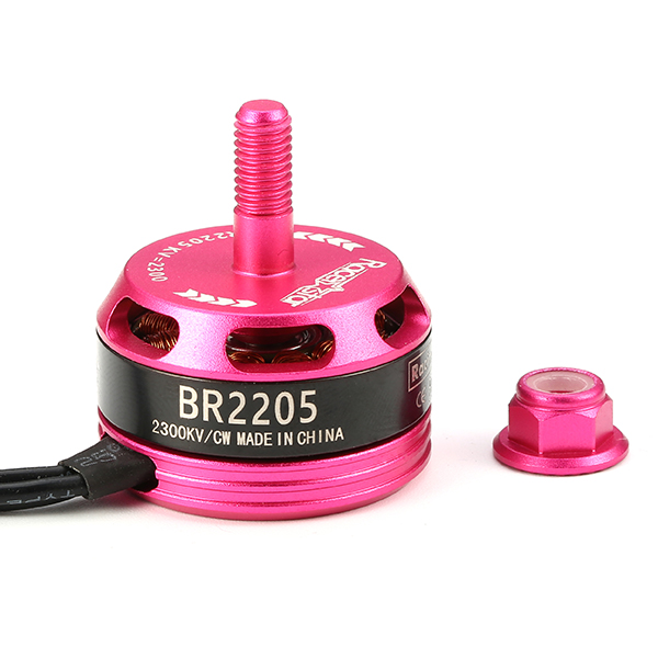 Racerstar Racing Edition 2205 BR2205 2300KV 2-4S Brushless Motor CW/CCW Pink For QAV250 ZMR250 260 - Photo: 4