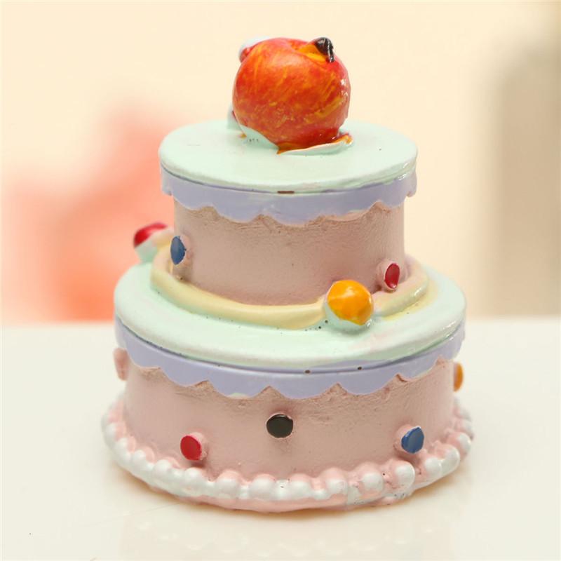 1 шт мини-торт моделируется кукольный торт украшения Дети игрушки