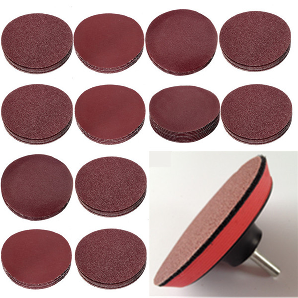 10pcs 3 Inch 40-2000 Grit Sander Disc Sanding Paper Abrasive Tool new arrival 338pcs set 3 8 inch 1 4 inch 1 2 inch sanding for band drum sleeve 60 120 320 mix grit for dremel wholesale price