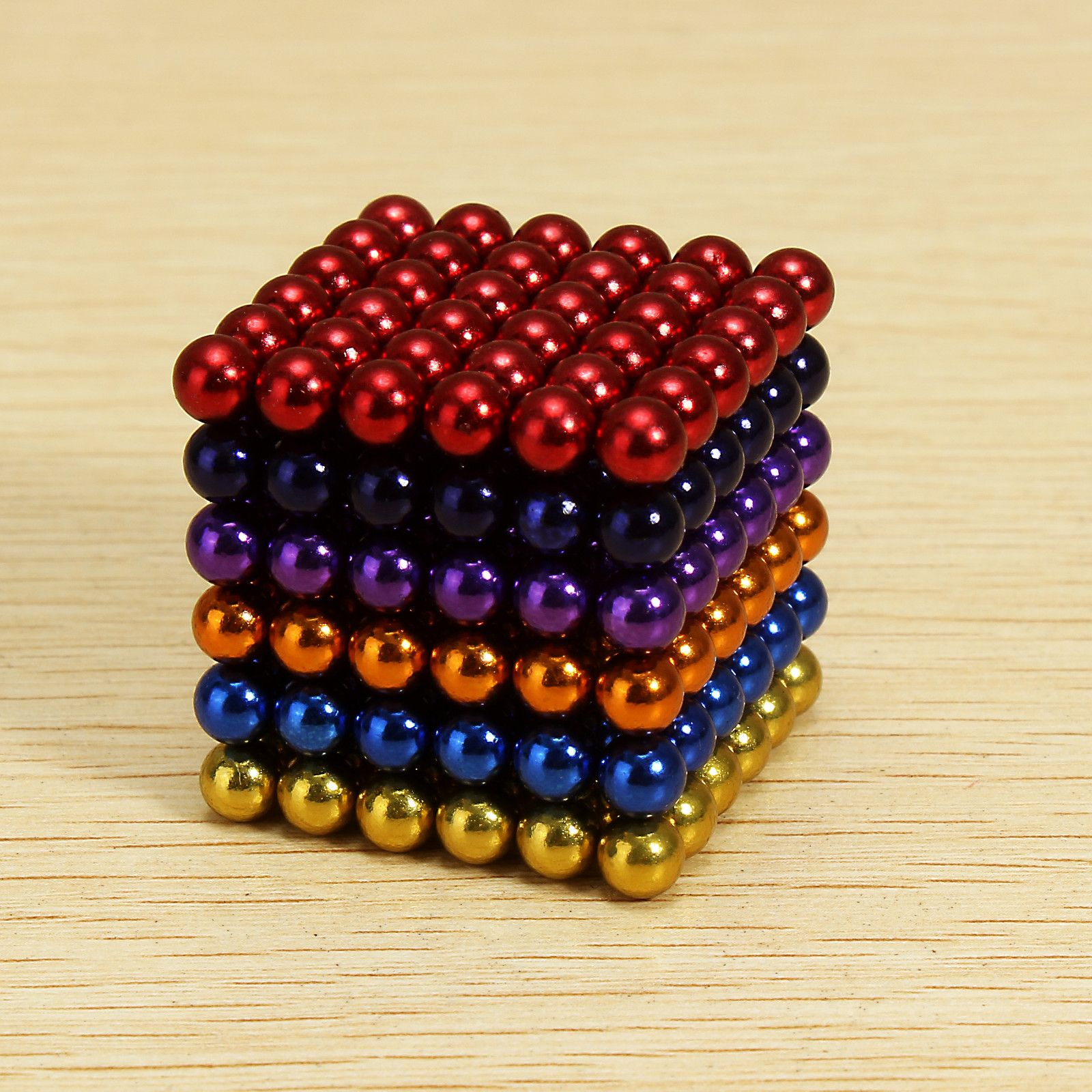 216Pcs 5mm Colorful DIY Neocube Magic Beads Magnetic Balls Puzzle 5mm magnetic ball puzzle novelty toy for diy 216pcs