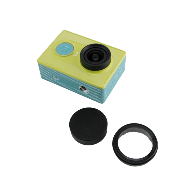 Lens Cover Set For Xiaomi yi Action Sport Camera Include UV+ Lens Cover балансир asseri цвет черный белый красный длина 6 5 см вес 7 г 513 06001