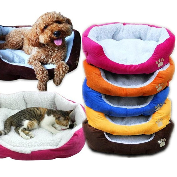 Large Size Fleece Soft Warm Dog Mats Bed Pad от Banggood INT